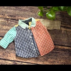 🌀Baby Gap | Checked Button Down